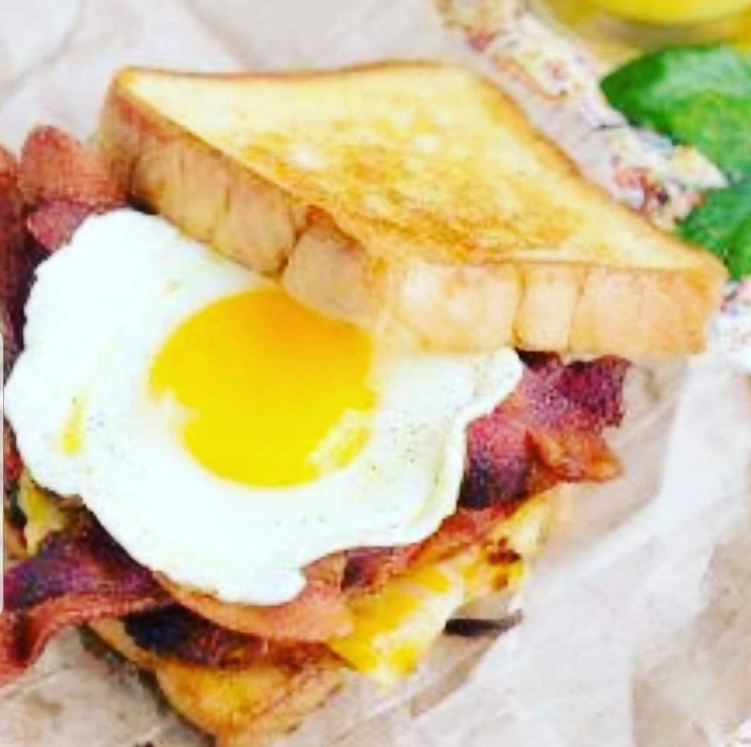 Bacon & egg sandwich