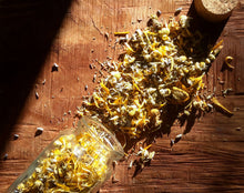 Load image into Gallery viewer, Facial Steam ~ Sensitive Skin | Organic Homegrown Botanicals ~ Calendula ~ Chamomile ~ Lavender | 90grams