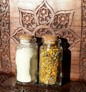 Facial Cleansing Grains ~ Sensitive Skin | Organic Homegrown Botanicals ~ Calendula ~ Chamomile ~ Lavender