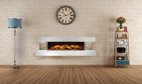 Compton Electric Fireplace Suite by European Home