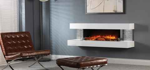 Compton Wall Mounted Electric Fireplace