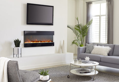 Touchstone Fury Wall Mounted Electric Fireplace