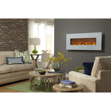 "Load image into Gallery viewer, Touchstone Ivory 50"" Wall Mounted Electric Fireplace"
