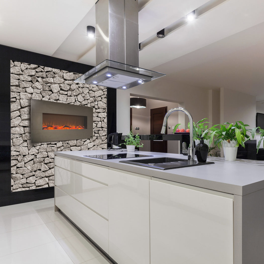 Stunning kitchen design with Touchstone Onyx Stainless 50