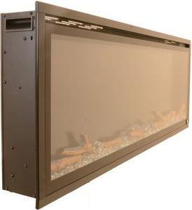 "Touchstone Sideline Elite 42"" Recessed Electric Fireplace"