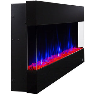 "Fury 80040 50"" Recessed Electric Fireplace 