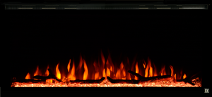 "Touchstone Sideline Elite 42"" WiFi-Enabled Recessed Electric Fireplace (Alexa/Google Compatible)"