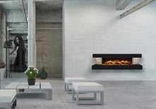 Load image into Gallery viewer, Compton 1000: Black Electric Fireplace Suite by European Home