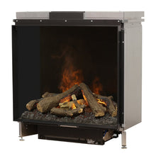 "Load image into Gallery viewer, Faber 32"" e-MatriX Water Vapor Left Corner Electric Fireplace Insert"