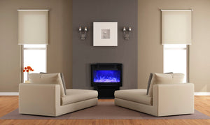 "Sierra Flame 26"" Free Stand Electric Fireplace"