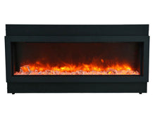 "Load image into Gallery viewer, Amantii 40"" Slim Built-in Electric Fireplace"