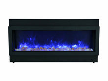 "Load image into Gallery viewer, Amantii 88"" Built-in Only DeepView Electric Fireplace"