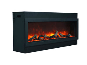 "Amantii 40"" Slim Built-in Electric Fireplace"