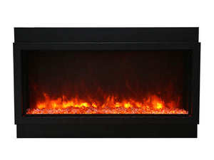 Amantii 60″ Wide – Deep Indoor or Outdoor Built-in Electric Fireplace
