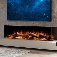 "Load image into Gallery viewer, European Home Linnea 60"" HALO Electric Fireplace 