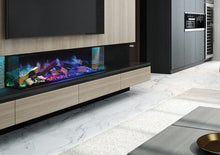 "Load image into Gallery viewer, Linnea 60"" HALO Electric Fireplace by European Home"