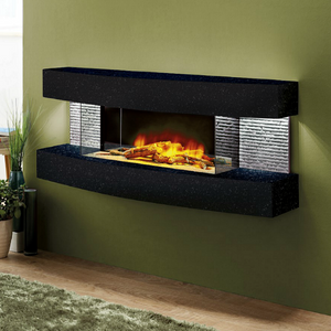 "Evolution Fires Miami Curve 48"" Electric Fireplace"