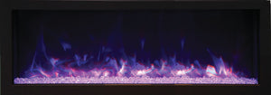 "Remii 45"" Deep Indoor or Outdoor Built-In Only Electric Fireplace"