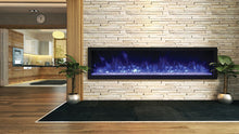 "Load image into Gallery viewer, Remii 65"" Extra Slim Indoor or Outdoor Built-In Only Electric Fireplace"