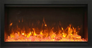 "Amantii 50"" Extra Tall Clean Face Built-in Electric Fireplace"