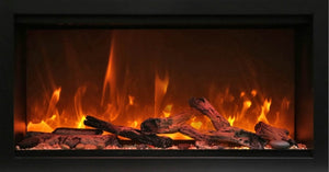 "Amantii 74"" Extra Tall Clean Face Built-in Electric Fireplace"