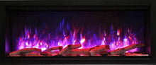 "Load image into Gallery viewer, Amantii 42"" Extra Tall Clean Face Built-in Electric Fireplace"
