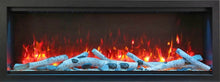 "Load image into Gallery viewer, Amantii 34"" Extra Tall Built-in Electric Fireplace"