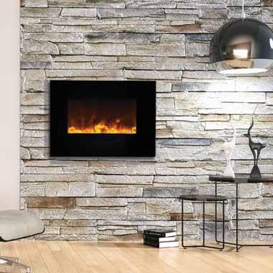 Amantii 26-Inch Wall Mount or Flush Mount Electric Fireplace | Very Good Fireplaces