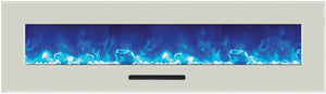 "Amantii 72"" Wall Mount or Flush Mount Electric Fireplace"