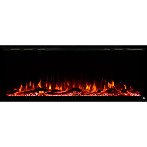 "Touchstone Sideline Elite 50"" Recessed Electric Fireplace"
