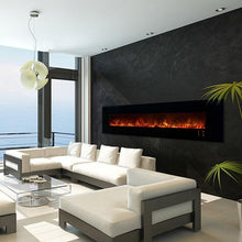 "Load image into Gallery viewer, Modern Flames 100"" Ambience CLX2 Electric Fireplace"