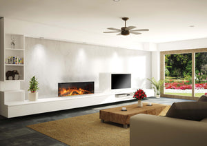 E40 Electric Fireplace by European Home