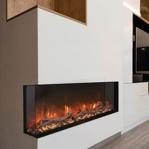 "Modern Flames 68"" Landscape Pro Multi-Sided Built-In Electric Fireplace"
