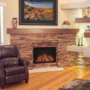 "Modern Flames Redstone Fireplace - 26"" Built-In Electric Fireplace - Very Good Fireplaces"