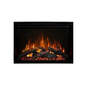 "Modern Flames Redstone Fireplace - 26"" Built-In Electric Fireplace - insert close up- Very Good Fireplaces"