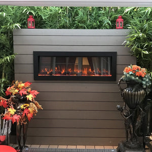 "fireplace | Touchstone Sideline 50"" Indoor/Outdoor electric fireplace"