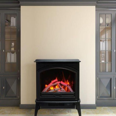 Sierra Flame 50'' Cast Iron Freestanding Series