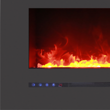 "Load image into Gallery viewer, Sierra Flame 72"" Wall Mount or Flush Mount Electric Fireplace"
