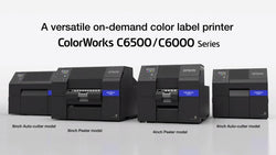 The best inkjet printers for color labels in Epson ColorWorks C600 series