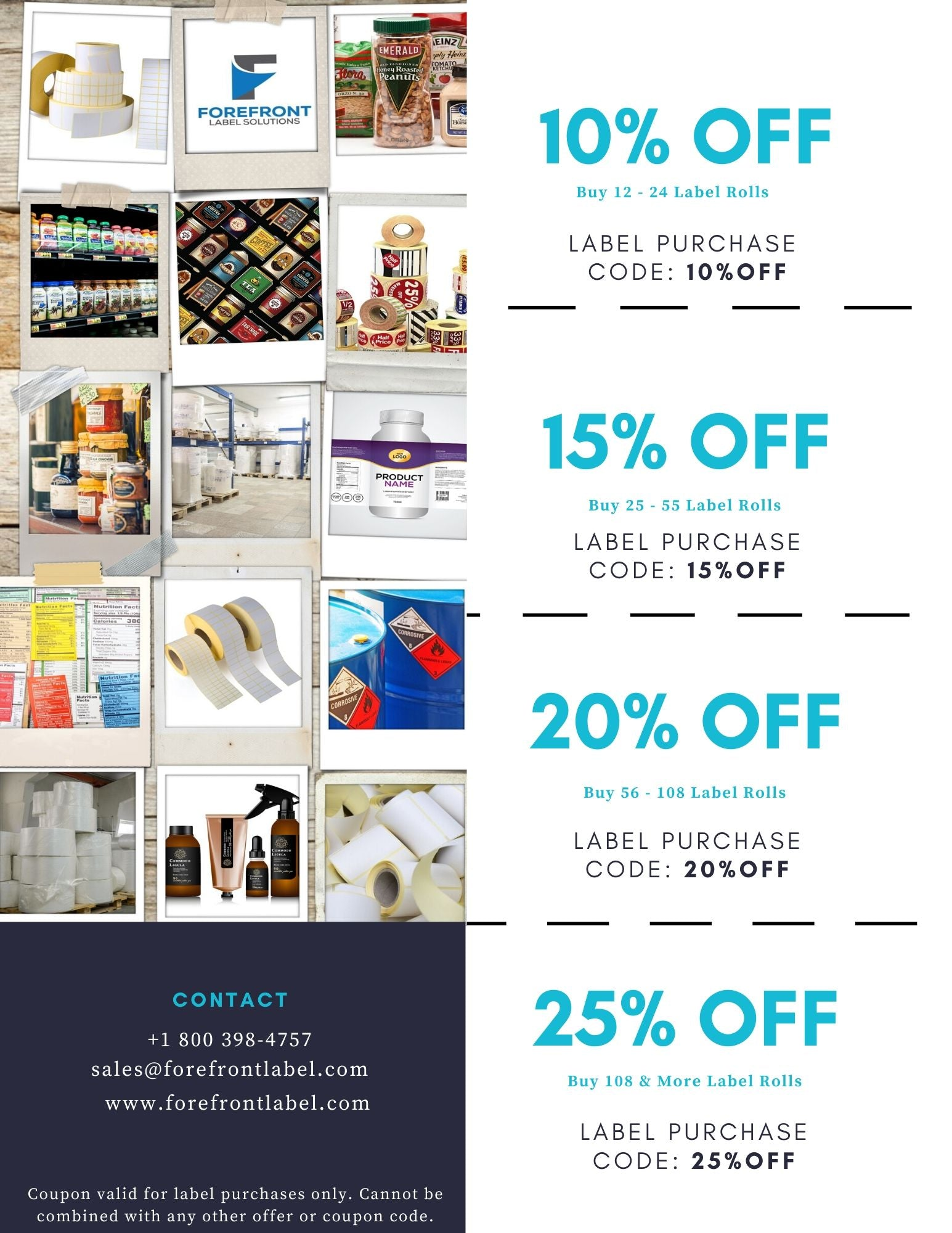 ForeFront Label Solutions - Coupons
