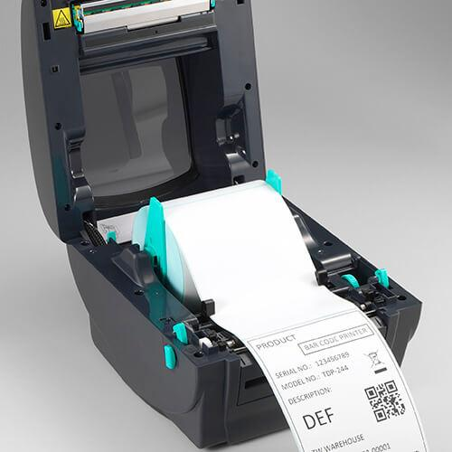 TSC TDP-247 Desktop Thermal Printer, 203 dpi, Ethernet