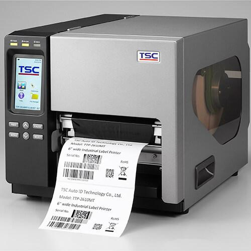 TSC TTP-368MT Industrial Thermal Printer, 300 dpi