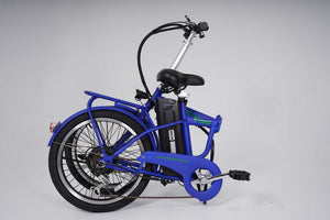Flow Electric Bicycle - Blue