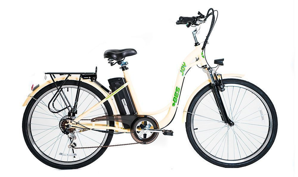 Joy Electric Bicycle - Yellow
