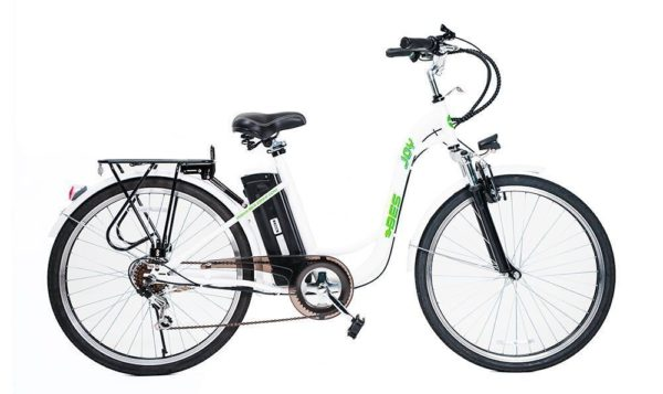 Joy Electric Bicycle - White