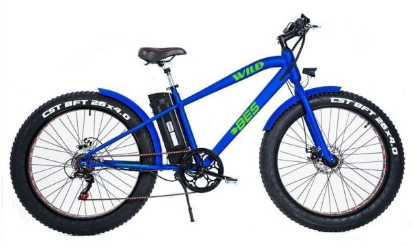 Wild Electric Bicycle - Blue
