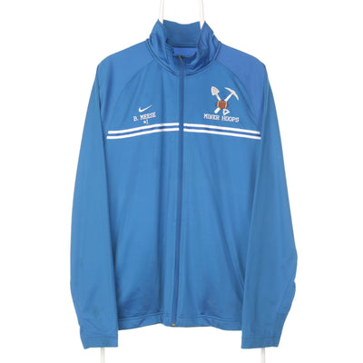 Blue Nike College  Track Jacket - Large
