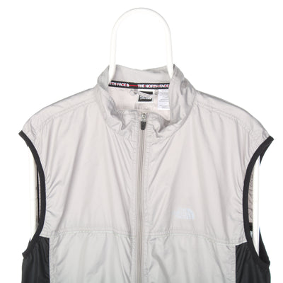 Grey The North Face Windbreaker Gilet - Large