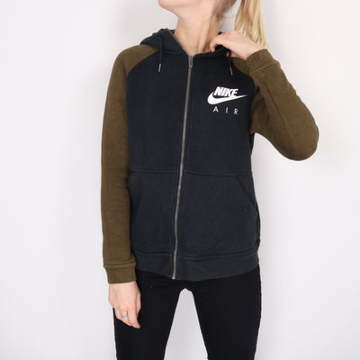 Nike - Black Air Spellout Hoodie - Small