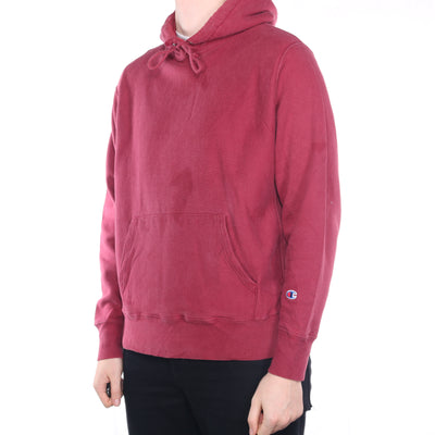 Champion - Red Reverse Weave Hoodie - Large